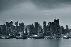 New York City evening Royalty Free Stock Photo