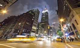 NEW YORK CITY - Fifth Avenue stock photos