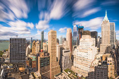 New York City Financial District Royalty Free Stock Photography