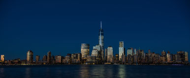 New York City Financial District, Manhattan Royalty Free Stock Photos