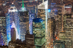 New York City financial district Royalty Free Stock Image