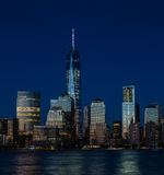 New York City finansiellt område, Manhattan Royaltyfri Foto