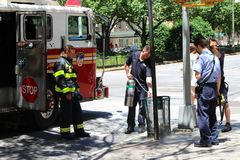 New York City Fire Department Royalty Free Stock Photo