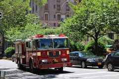 New York City Fire Department Stock Photography
