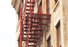 New York City Fire Escape Stock Image