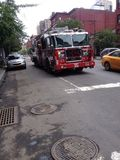 New York City. Fire fighters Stock Photography