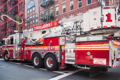 New York City fire truck Royalty Free Stock Image