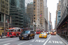 New York City Fire Trucks royalty free stock images