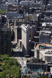 New York City Flatiron Building in Manhattan royalty free stock images