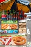 New York City Food Cart Stock Photos