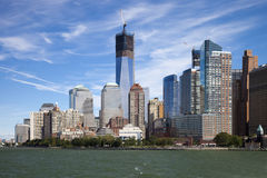 NEW YORK CITY the Freedom tower Royalty Free Stock Photo