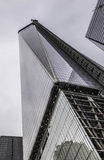 New York City - Freedom Tower Under Construction Stock Photo