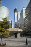 NEW YORK CITY the Freedom tower w romain numbers Stock Image