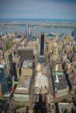 New York City gata Scape fotografering för bildbyråer