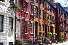 New York City - Gay Street in Manhattan Stock Photo