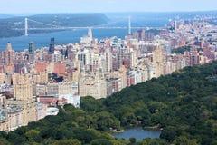 New York City George Washington Bridge royalty free stock images