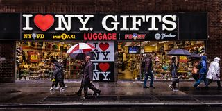 Free New York City-Gift Shop Royalty Free Stock Photos - 151089238