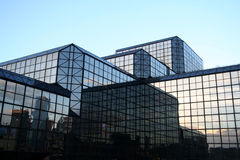 New York City Glass Building Royalty Free Stock Photo