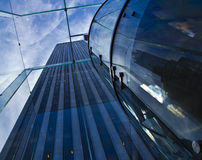 New York City Glass and Sky Royalty Free Stock Image
