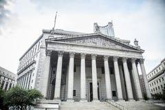 New York City högsta domstolen under dag royaltyfri foto