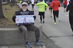 New york city half marathon  2015 Royalty Free Stock Photo
