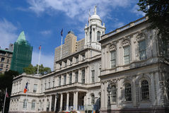 New York City Hall royalty free stock photos