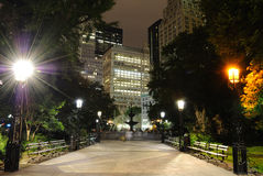 New york city hall park Stock Photography