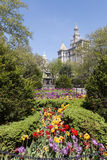 New York City Hall Park Royalty Free Stock Images