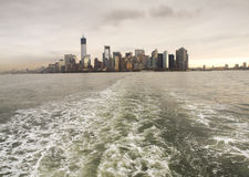 New York City Harbour View stock image