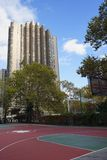 New York City Harlem Basketball Court USA.  Stock Photos