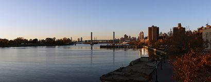 New York City Harlem River USA Stock Images