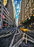 New York City in HDR. Stockbild