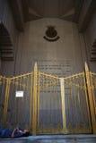 New York City: Heilsarmeezitadellenobdachlose bemannen Lizenzfreies Stockbild