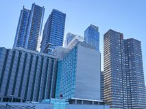 New York City high buildings stock image