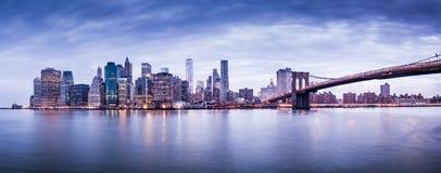 New York city. High resolution Panorama of New York city Royalty Free Stock Photos