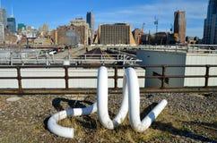 New York City Highline, New York City, USA. Royalty Free Stock Photos