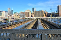New York City from the Highline, NYC Stock Photography