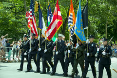 New York City Honor Guard Stock Image