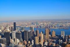 New York City horisont Royaltyfri Fotografi