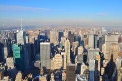 New York City horisont 免版税库存图片