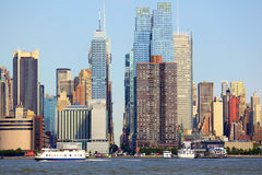New York City horisont Royaltyfri Foto