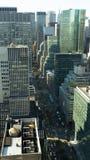 New York City horisont Arkivfoto
