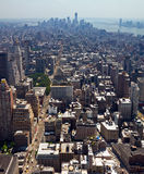 New York City - i stadens centrum Manhattan horisont Royaltyfri Bild