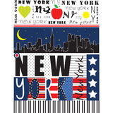 New York City illustration Royalty Free Stock Photos