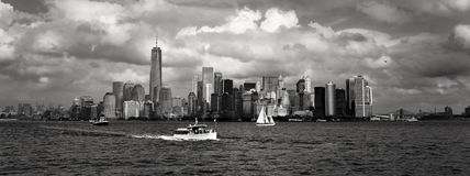 New York City im Stadtzentrum gelegen Stockfotos