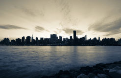 Free New York City In Dramatic Black And White Stock Images - 8258514