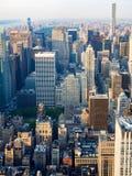 New York City including the Rockefeller Center Stock Images