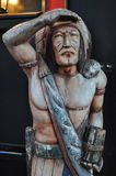 Indian chief in NYC. New York City Indian Stock Photo