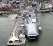 New York City Intrepid Sea Air and Space Museum Royalty Free Stock Images