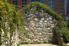 New York City Irish Hunger Memorial Royalty Free Stock Photography